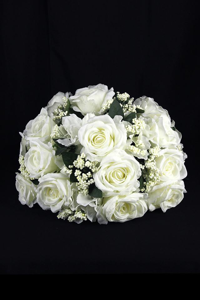 31 Rose Hydrangea 1 2 Sphere Shape 20cmh X 40cmd Holstens