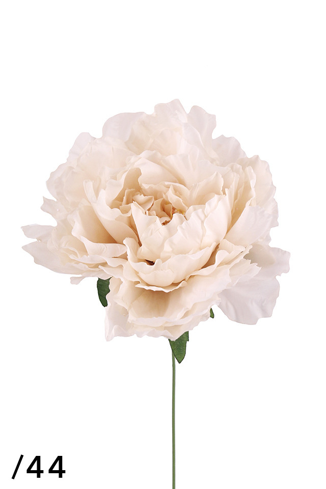 PEONY PEONIES PEONIE ARTIFICIAL ARTIFICIALS FLOWERS FLOWER STEM STEMS LARGE LARGES SINGLE SINGLES HEAD HEADS