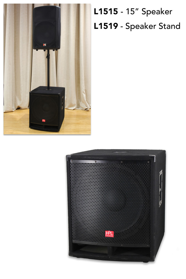 SOUND SOUNDS SYSTEM SYSTEMS AUDIO AUDIOS SPEAKER SPEAKERS ACTIVE ACTIVES POWERED POWEREDS AV AVS A/V A/VS VISUAL VISUALS SUB SUBS WOOFER WOOFERS SUBWOOFER SUBWOOFERS W