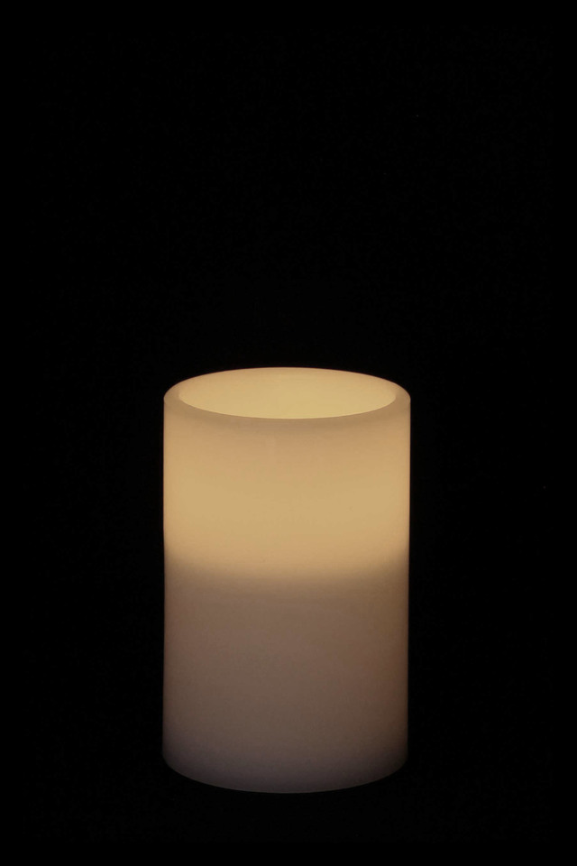 Real Wax Led Candle Requires 3xaaa Batteries 100d X