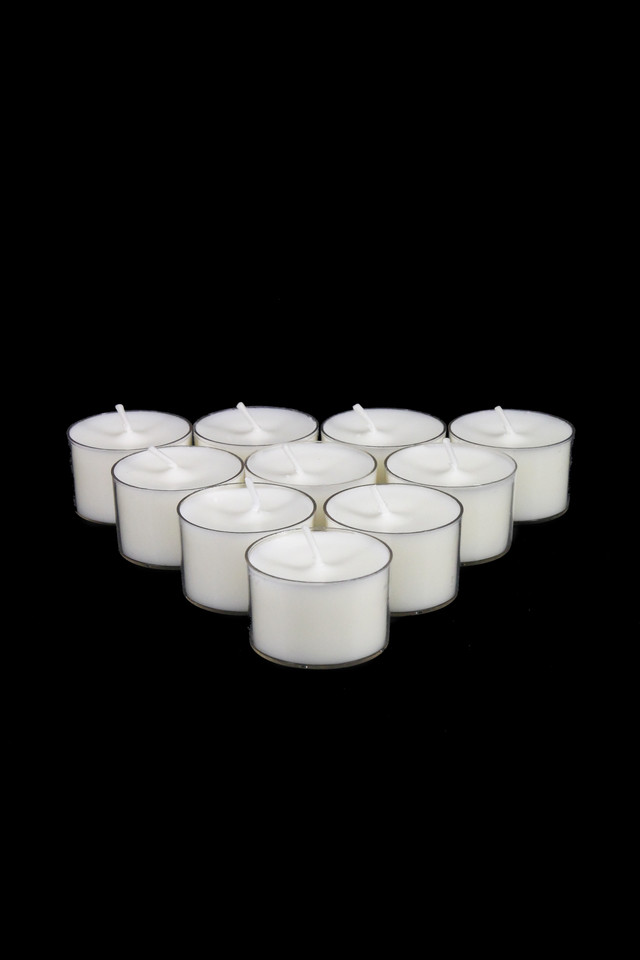 WAX WAXES CANDLE CANDLES REAL REALS TEA TEAS LIGHT LIGHTS T-LITE T-LITES TLITE TLITES PILLAR PILLARS DINNER DINNERS WICK WICKS CLEAR CLEARS PLASTIC PLASTICS CASE CASES HR HRS TEALIGHT TEALIGHTS G