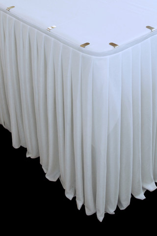 Event Decorating Gt Gt Sashes Covers Amp Linen Gt Gt Table Skirting Holstens